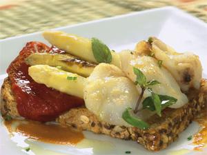 tosta de pan es un producto de la cocina saludable de Francisco Clausell