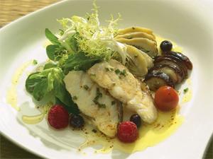 Plato ligero Restaurante El Palasiet
